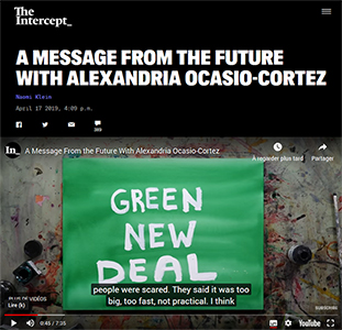 The Intercept - A message from the future