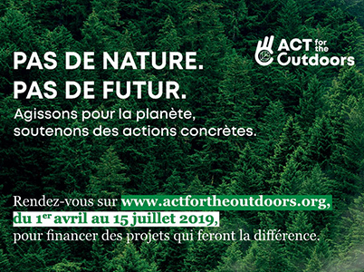 "Programme ""ACT for the Outdoors"" de OSV"
